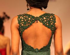 Exquisite design and detailing, perfect for a gorgeous (and sexy) wedding blouse! #indian #bridal #green: