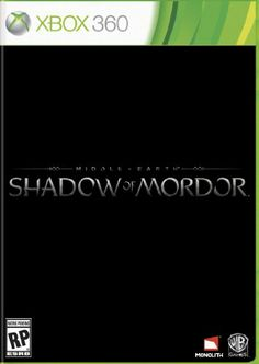 Amazon.com: Middle Earth: Shadow of Mordor - Xbox 360: Video Games