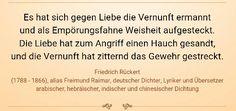 Liebe - Friedrich Rückert