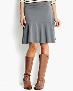 Easy Flounce Skirt from #HannaAndersson.