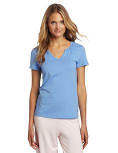 Nautica Sleepwear Women`s Split Neck Tee $16.80