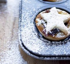 These pint-sized Christmas bites deliver the perfect balance of rich, spiced flavour and pastry perfection made with plant based butter Nuttelex. Best made a day or so ahead. Makes 12 pies. Candied Lemon Peel, Candied Orange Peel, Nut Free, Dairy Free, Apple Brandy, Mini Tart, Mince Pies, Muffin Tins, Granny Smith