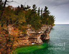 Pictured Rock National Lakeshore,Michigan,Upper Peninsula