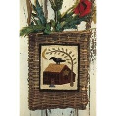 Crow Homestead Punch Needle Pattern