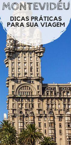 Montevidéu, no Uruguai: Dicas de viagem e turismo. Descubra quando ir, como se locomover, onde ficar hospedado,qual moeda levar, e quais os principais gastos. #montevideu #uruguai #mochilao