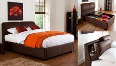 DIY King Size Storage Headboard | Vantage King Size Storage Bed Frame