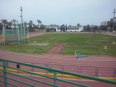 Estadio atletismo(carreras,saltos y lanzamientos) en carranque