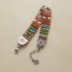 BRIGHT SIDE BRACELET Sundance Jewelry  Chili Rose & Peyote Bird for Sundance !  WWW.MAGGYCALHOUN.COM