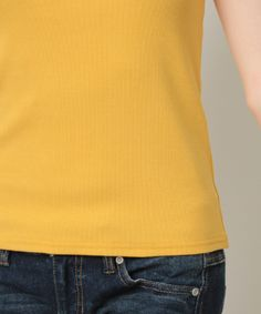 【テレコ・オフショルダー・プルオーバー】オフショルダー・デザインがオシャレなテレコ素材の半袖プルオーバ…