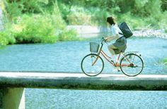 自転車と女子高生 : 【夏】夏の切なさとワクワク感は異常【ノスタルジック】 - NAVER まとめ