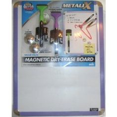 Board Dudes MetaliX Magnetic Dry Erase Board Value Pack