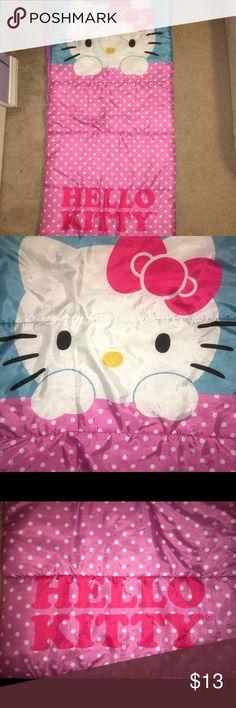 HELLO KITTY sleeping bag HELLO KITTY brand sleeping bag for girls HELLO KITTY Accessories Bags