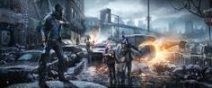 How to Carve Roast Unicorn: TOM CLANCY'S THE DIVISION TRAILER, CONCEPT ART AND GAMEPLAY