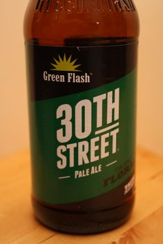 Green Flash - 30th St Pale Ale - Love that they are opening up in Virginia