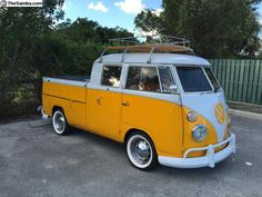 T1 VW Bus double cab pick up vontage