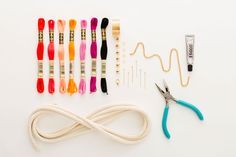 3 Easy Ways to Make a Stunner Necklace With Rope via Brit + Co