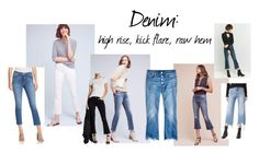"""""""Spring Trend '17: denim"""" by redress on Polyvore featuring AG Adriano Goldschmied, Mother, Levi's, DL1961 Premium Denim, Madewell, Hudson, Jolt and BDG"""