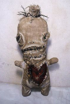 Handmade Art Doll Voodoo Ezili by JunkerJane on Etsy, $65.00