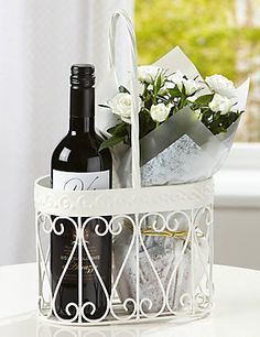 Red Wine & Rose Gift