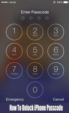 HOW TO UNLOCK IPHONE WITHOUT THE PASSCODE (LIFE HACKS