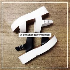 Cheers to the weekend!   SHOE-pping time at Primadonna Shoes Official located at the Upper Ground Floor SM CITY STA. MESA!!!   So many new arrivals to choose from!!!  #primadonnaph #primadonna #iLoveSM #iLoveSMStaMesa