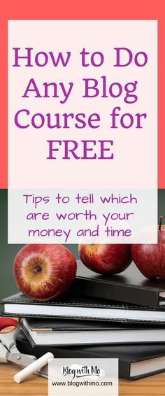 How to do any of the best blogging courses for free. Learn my tips on recognising when a course is worth your time and money.