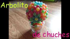 tarta/maceta con arbol de flores chuches  ( TREE of flowers  gominolas)(...