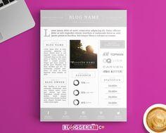 35 Best Mediapress Kit Templates Images Media Kit Template Cv
