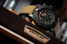 Breitling Avenger Hurricane Military: When The Going Gets Tough