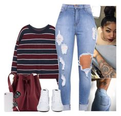 """"""""""" by tonaysia ❤ liked on Polyvore featuring Sophie Hulme, Vans and PhunkeeTree"""