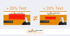 Beating The 20 Percent Rule On Ad Images Facebook Advertising Tips, Facebook Marketing, Internet Marketing, Online Marketing, Digital Marketing, Facebook Text, Best Facebook, Facebook Image, Best Way To Advertise