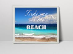 "Thanks for the kind words! ★★★★★ ""Love it!A wonderful game of colors!!!"" Wim https://etsy.me/2nx7iO1 #etsy #art #print #digital #takemetothebeach #printablewallart #beachposter #summerprint #seascapeart #inspirationalquote"