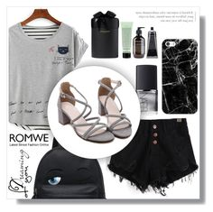 """Romwe 4. / IV"" by amra-sarajlic ❤ liked on Polyvore featuring NARS Cosmetics, Casetify, Grown Alchemist and romwe"