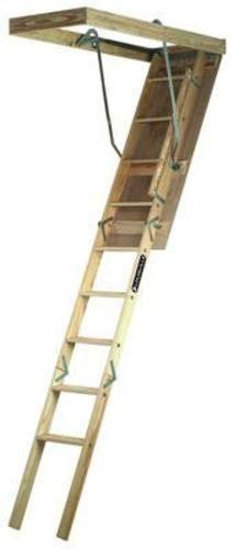 Louisville Ladder Fts254p Attic Stair 25 5 X 54 Wood Attic Ladder Attic Renovation Attic Stairs