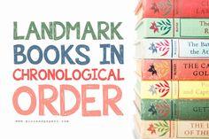 Landmark Books in Chronological Order