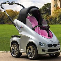 BMW stroller? Really? How amazing.
