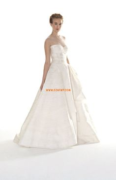 Hof-Schleppe Taft Drapiert Brautkleider 2014