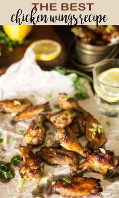 The best chicken wings recipe - All that's Jas