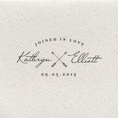 Titania Joined in Love Wedding Logo by southelliott on Etsy Wedding Logo Design, Wedding Branding, Wedding Logos, Wedding Stationary, Wedding Designs, Wedding Invitations, Wedding Initials, Monogram Wedding, Monogram Logo
