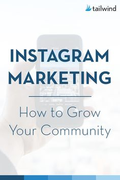 Instagram Marketing: How To Grow Your Community #instagrammarketing #instagrammarketingtips #instagrammarketingideas <br>