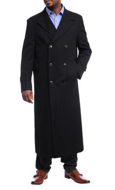 This item is ideal for weddings, proms, black tie, business and other formal events. Black Tie, Solid Black, Topcoat Men, Double Breasted Trench Coat, Top Coat, Black Wool, Black Diamond, Cool Outfits, Suit Jacket