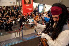 Nuestro pirata del caribe hizo de las suyas en Kinepolis Madrid. #concierto #musica #piratasdelcaribe #pelicula #bandasonora #musica #cine