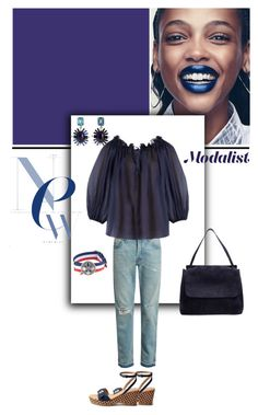 """""""Go Casual with Cotton Top"""" by modalist ❤ liked on Polyvore featuring Gucci, Three Graces, Oscar de la Renta, Gabriele Frantzen, The Row and STELLA McCARTNEY"""