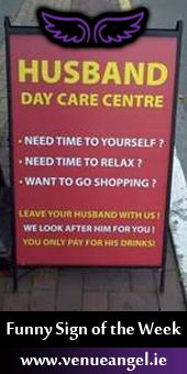A lot of funny signs can be found around the streets. We've selected some of the most creative and funniest signs to make you laugh! Funny Shit, Haha Funny, 9gag Funny, Funny Stuff, Funny Ads, Funny Pranks, Husband Day, Funny Husband, Husband Quotes