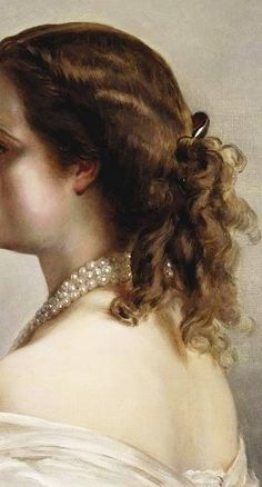 Traveling through history of Art...Joséphine de Beauharnais, detail, by François Gérard, 1801.