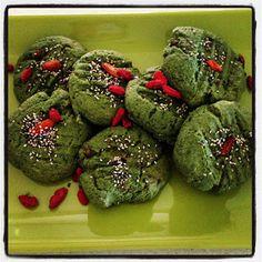 Holistic health and beauty : Spirulina & Goji Berries Cookies