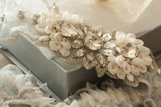 beautiful handmade garter