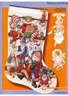 Gallery.ru / Фото #10 - Cross Stitch Gold Christmas 2002 - tymannost