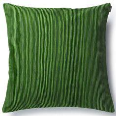 Marimekko Cushion Cover - Varvunraita Gn at MAKE Designed Objects