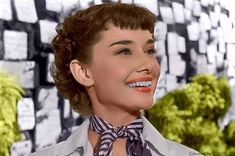 "Audrey Hepburn in ""Roman Holiday"" (1953)"